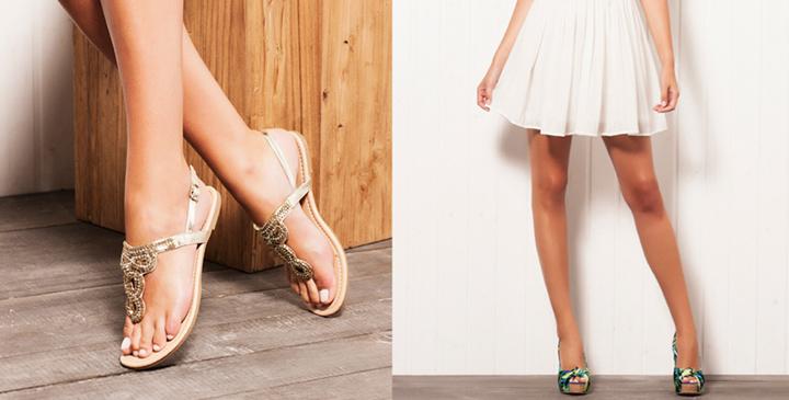 Calzado de Blanco verano 2014