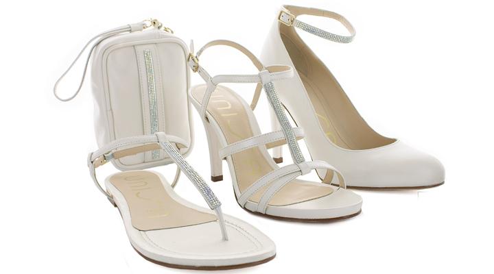 Colección de calzado Unisa con cristales Swarovski