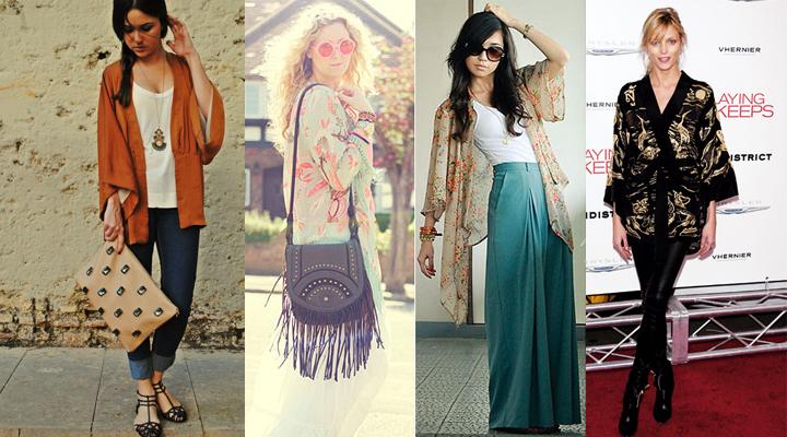 Ideas para lucir el kimono