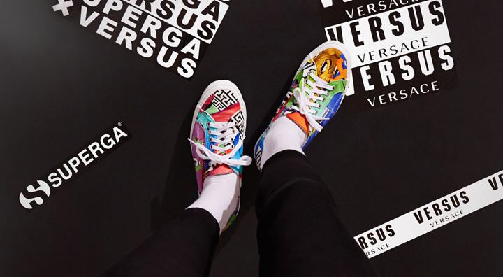Las zapatillas deportivas de Versace para Superga1