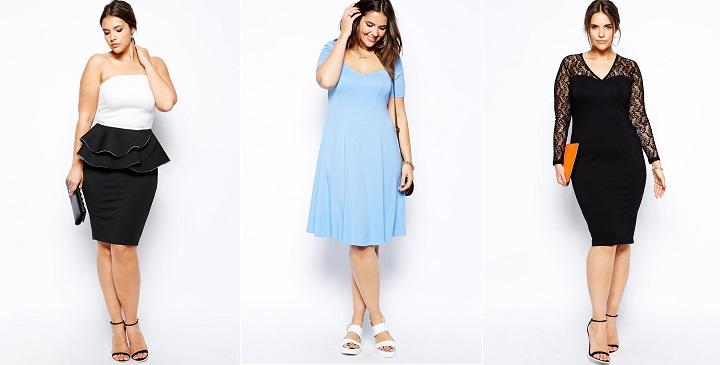 Vestidos de fiesta para mujeres sin curvas