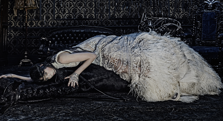 Increíble campaña de Alexander McQueen otoño-invierno 2014-2015