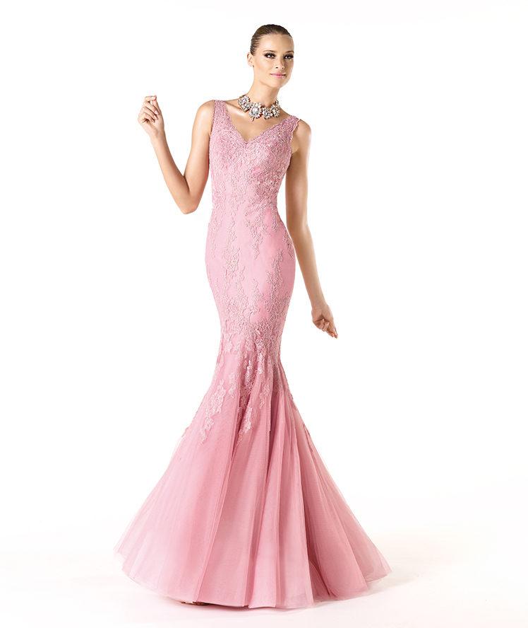 Rebajas en la colección de vestidos de fiesta Pronovias 2014