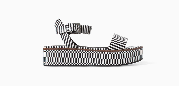 Zapatos estampados de Zara verano 2014