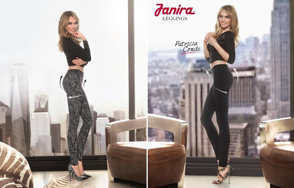 Patricia Conde con leggings Janira