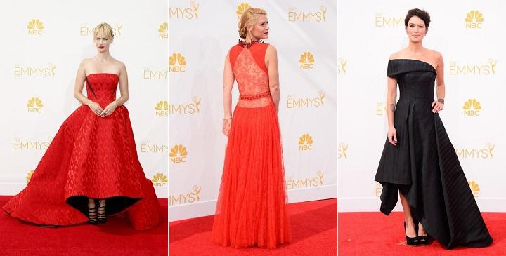 Las mejor vestidas Emmy 2014