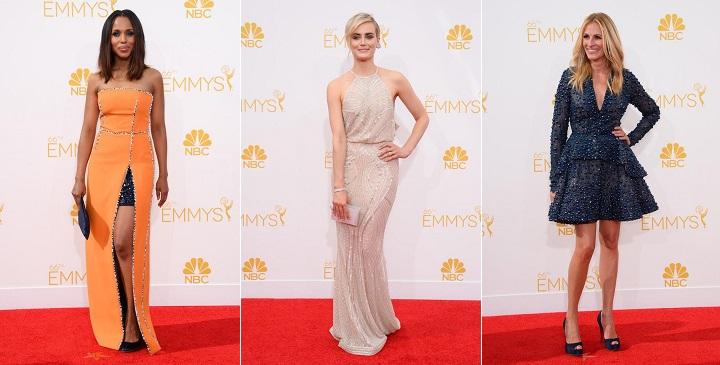 Las mejor vestidas Emmy 20141
