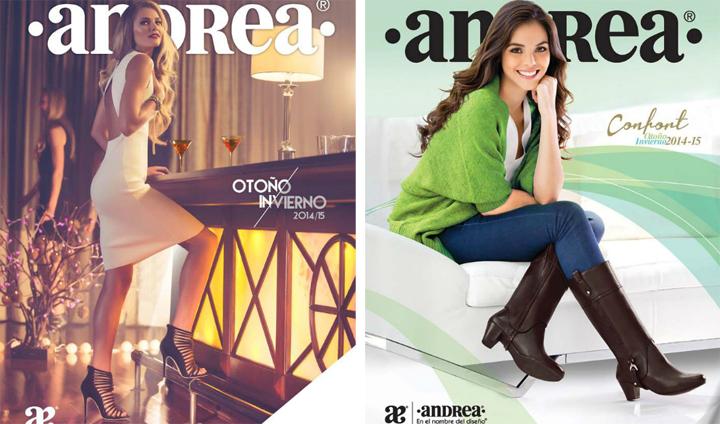 Catálogo de zapatos Andrea otoño-invierno 2014-2015