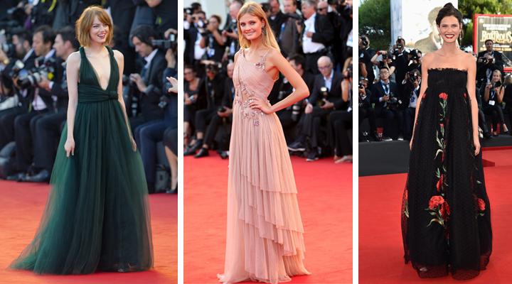 Las más guapas de la inauguración del Festival de Venecia 2014