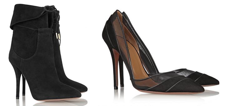 Los zapatos de Olivia Palermo para Aquazzura