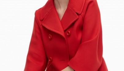 Corto Mujer 4eta5wq 4eta5wq Corto Abrigo Mujer Rojo Abrigo Rojo w1YnqAY0