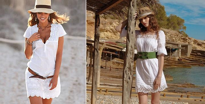 Vestido blanco ibicencocomprar - Ropa estilo ibicenco ...