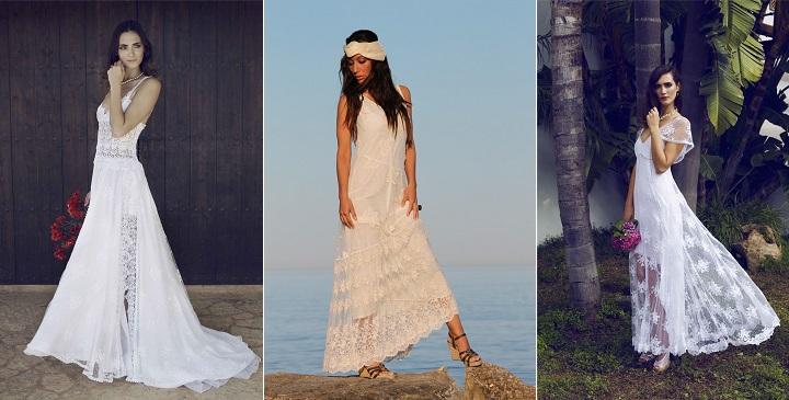 vestidos de estilo ibicenco