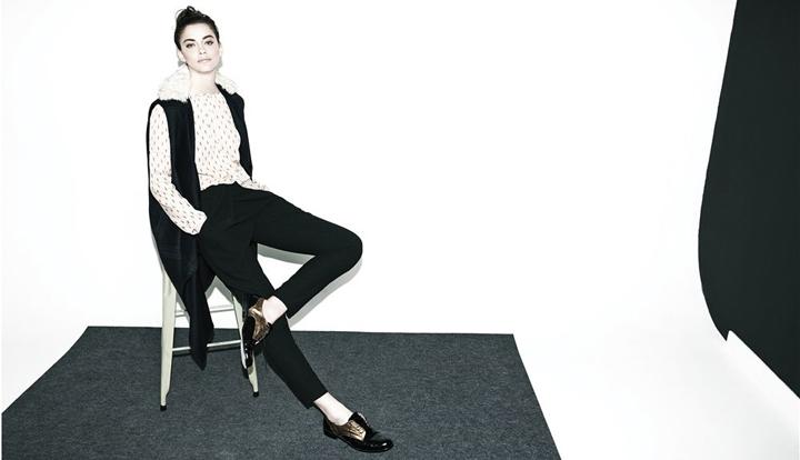 Alejandra Alonso, imagen de Hoss Intropia otoño-invierno 2014-2015