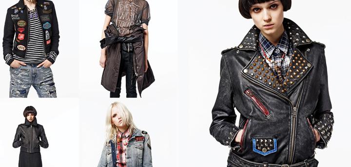 Diesel: coleccion femenina otono-invierno 2014-2015