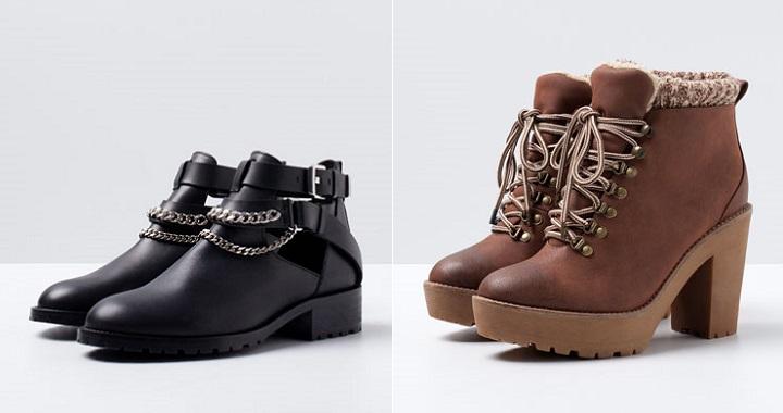 zapatos Bershka otono invierno 2014 2015