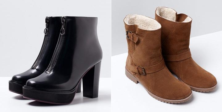 zapatos Bershka otono invierno 2014 20151