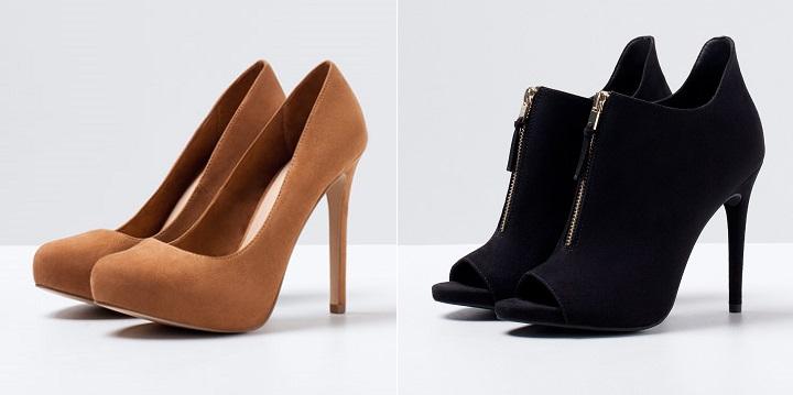 zapatos Bershka otono invierno 2014 20152