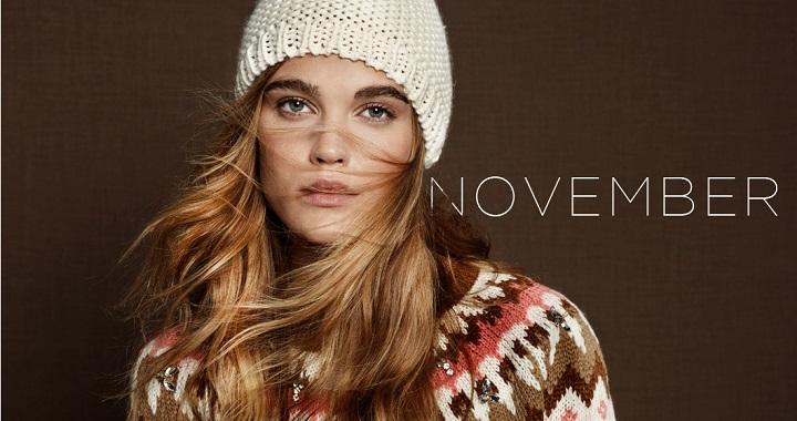 Stradivarius para Noviembre 2014