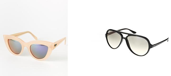 coleccion de gafas de sol asos