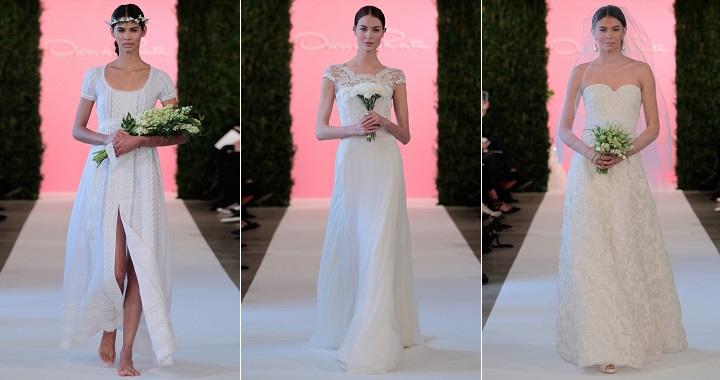 vestidos novia Oscar Renta 2015