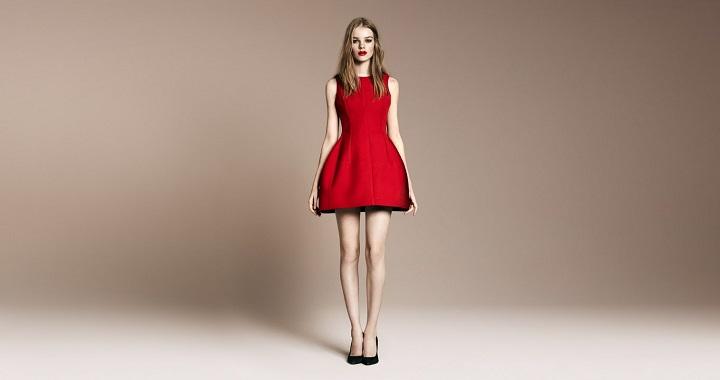 vestidos rojos Navidad