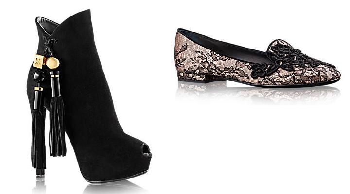 Zapatos Louis Vuitton invierno 2014