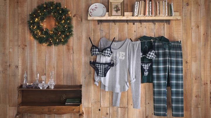 pijamas y ropa interior de Sfera para invierno 2015
