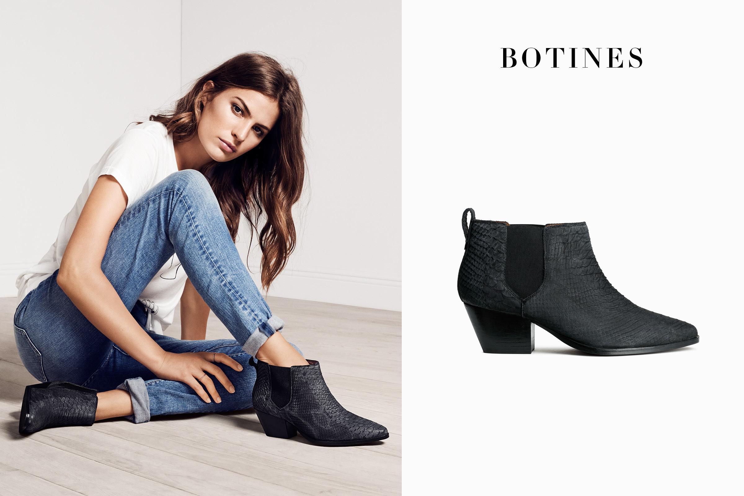 Botas y botines en la nueva colección Primavera 2015 de H&M