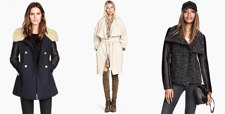 chaquetas abrigos hm1
