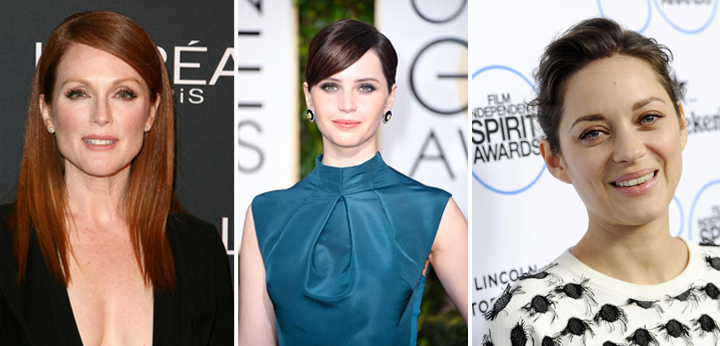 las actrices nominadas a los oscar 2015