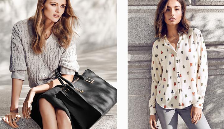 los colores de moda para la primavera de 2015 de handm