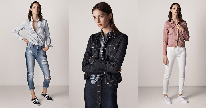 Denim on denim Mango primavera 2015