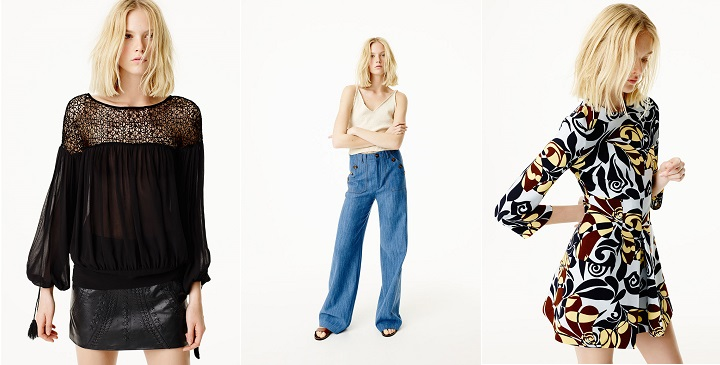 Zara lookbook primavera 20151