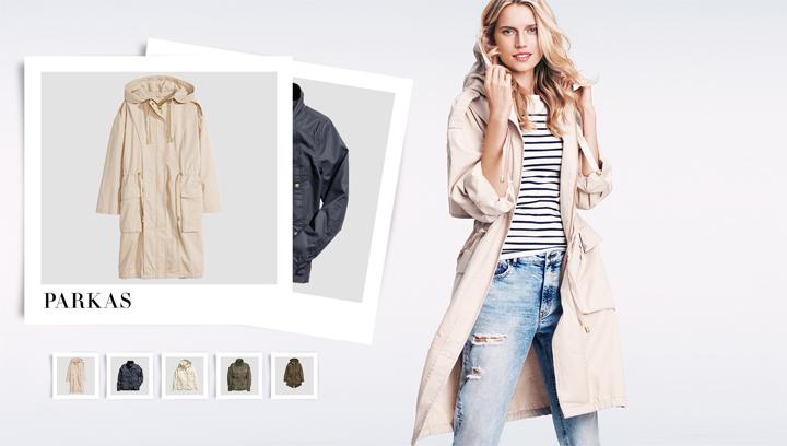 chaquetas de moda de handm para la primavera de 2015