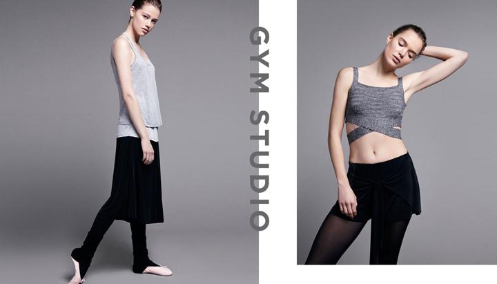 coleccion gym studio de oysho primavera-verano 2015
