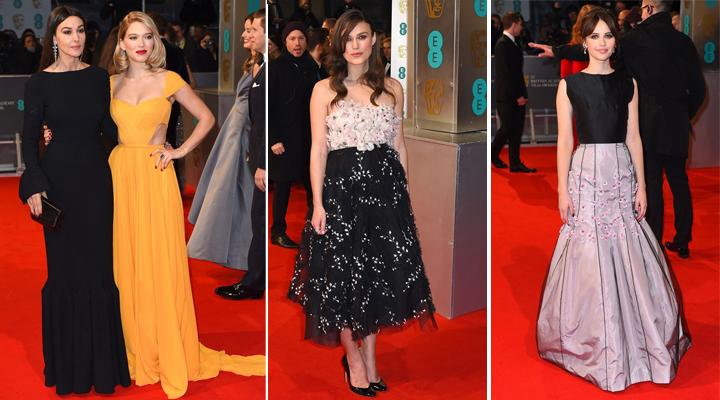 las mas guapas de los premios bafta 2015