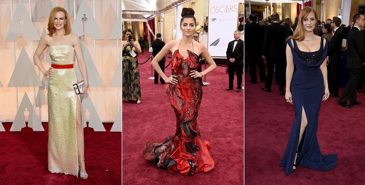 peor vestidas Oscar 20151