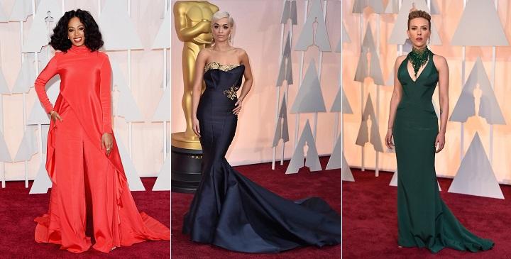 peor vestidas Oscar 20153