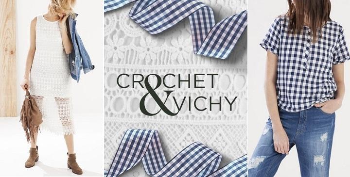 Crochet y Vichy Stradivarius