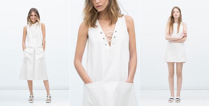 Optic white Zara TRF1