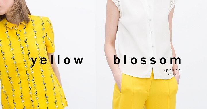 Zara Yellow Blossom