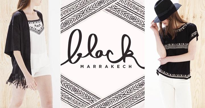Black Marrakech Stradivarius