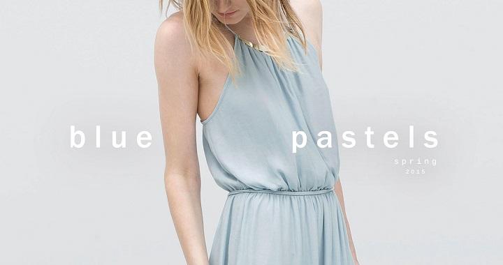 Blue Pastels Zara