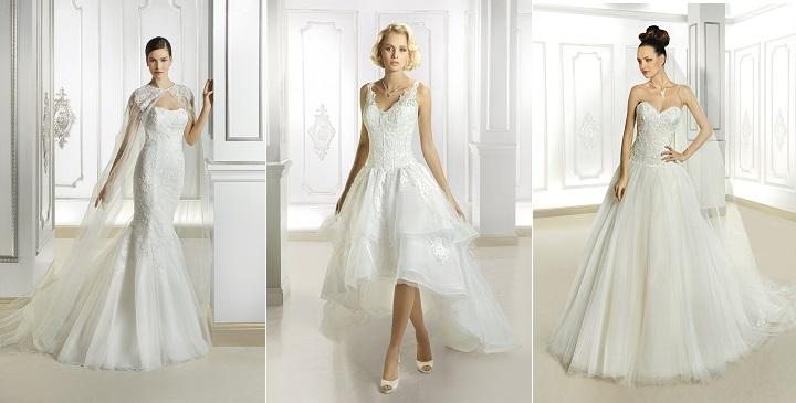 Vestidos de novia Cosmobella 20151