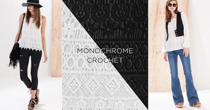 Monochrome Crochet Stradivarius