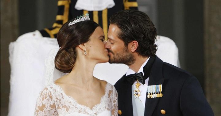 Sofia Hellqvist vestido de novia