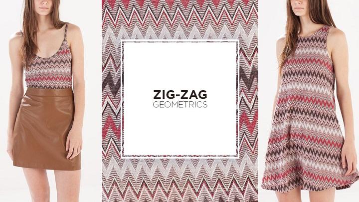 Zig Zag Geomtrics Stradivarius