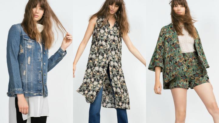 Colecci n aw15 green paisley lo nuevo de zara for Zara nueva coleccion