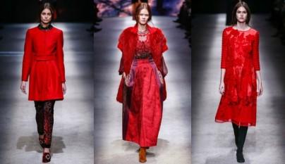 rojo Milan Fashion 2015